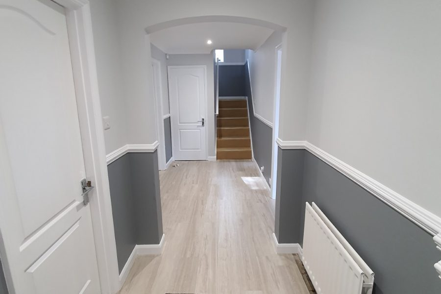 Entrance, Stairs and Hallway Redecoration